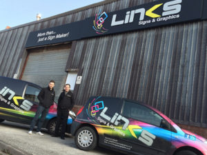 Links Signs and Graphics Vehicle Graphics Signage Blackpool