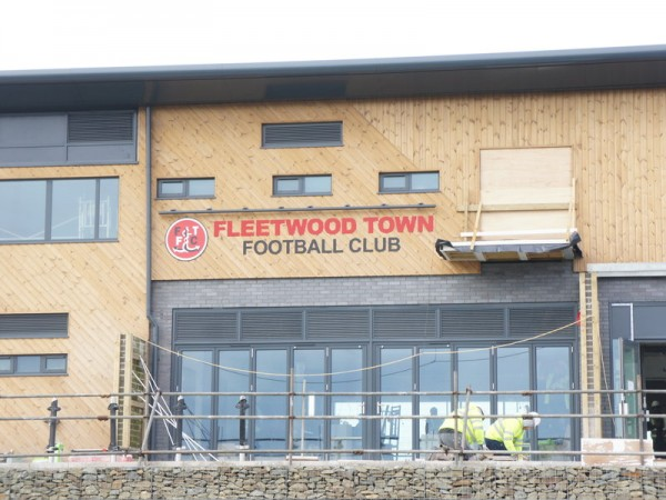 External and Internal Signage for Fleetwood Town