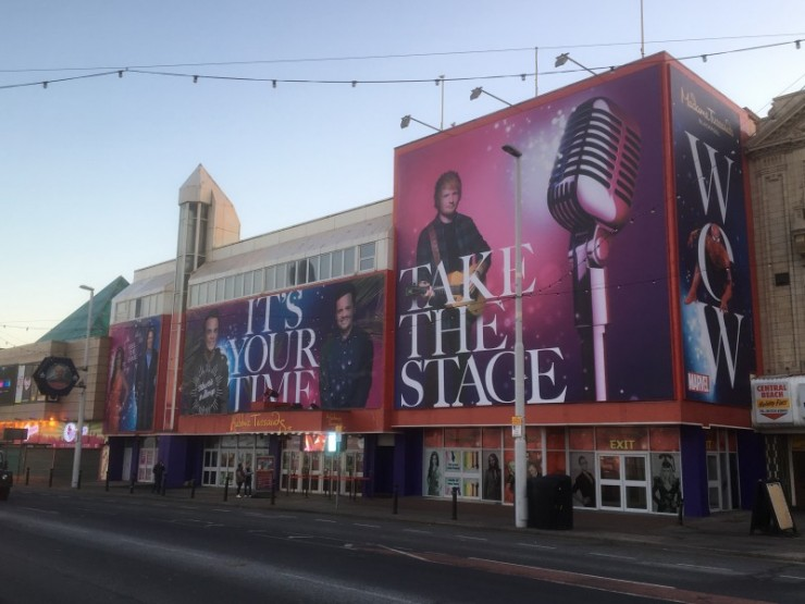 External Banners, Blackpool, Lancashire