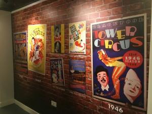 Wall Graphics Blackpool, Internal Signs Tower Circus