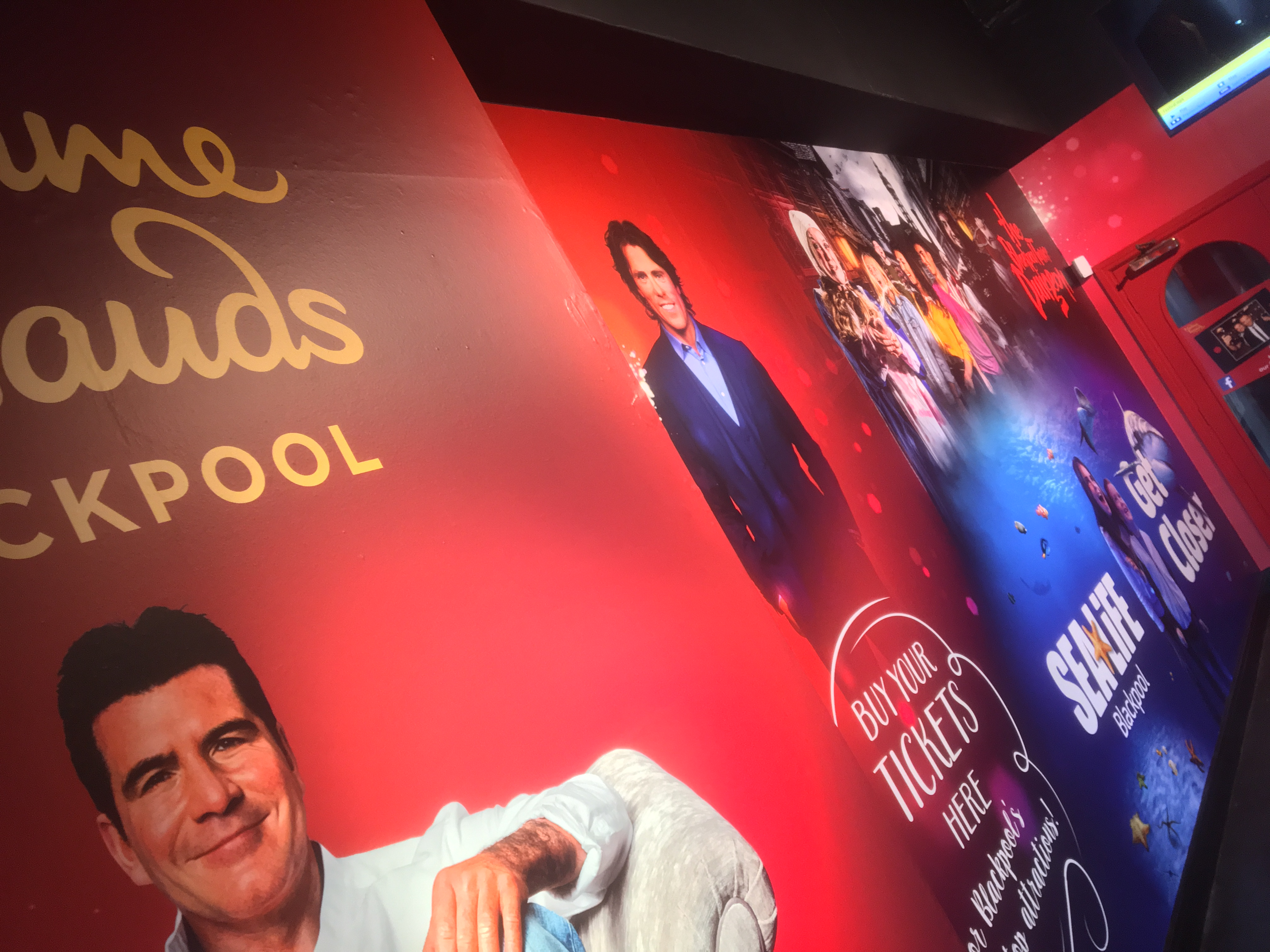 Wallcoverings Madame Tussauds Blackpool
