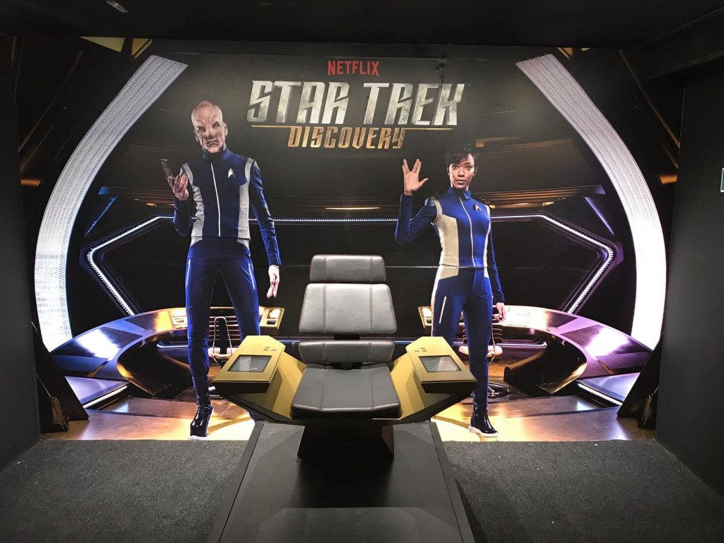 Star Trek & Netflix UK Wallcoverings & Wall Murals for Discovery Deck Blackpool