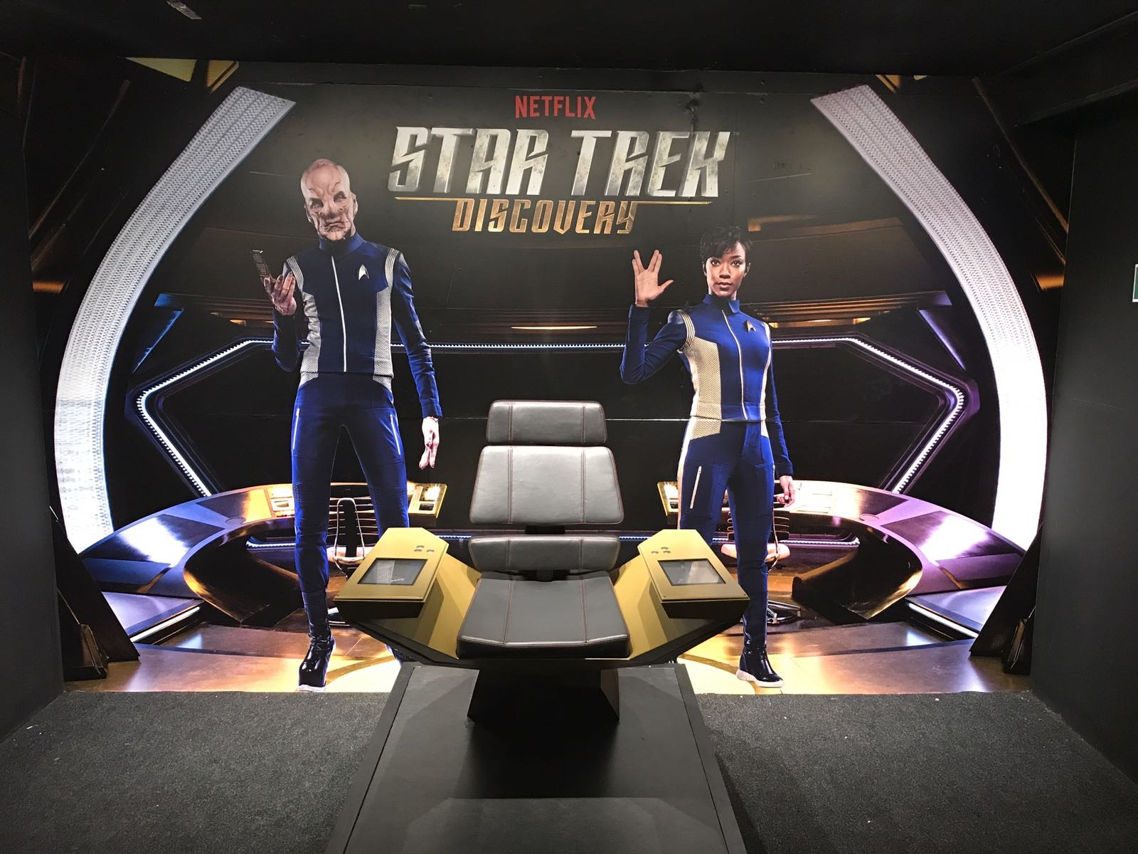 Netflix Star Trek Wall Coverings Murals Links Signs and Graphics