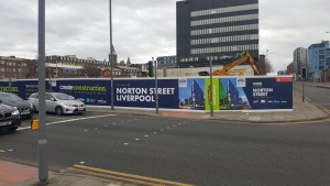 Street Level image of Hoarding Graphics
