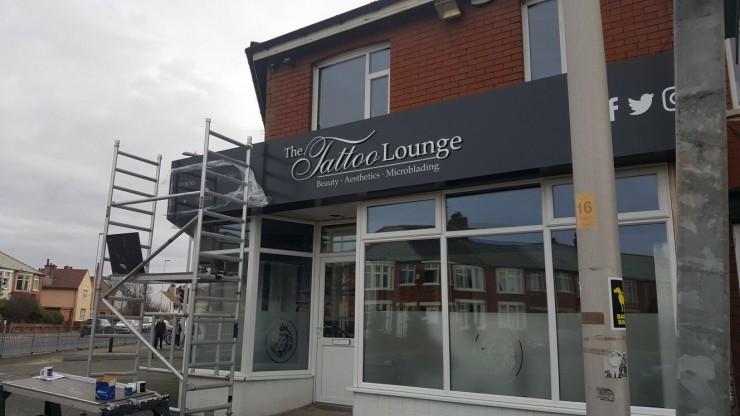 Tattoo Shop Sign Blackpool
