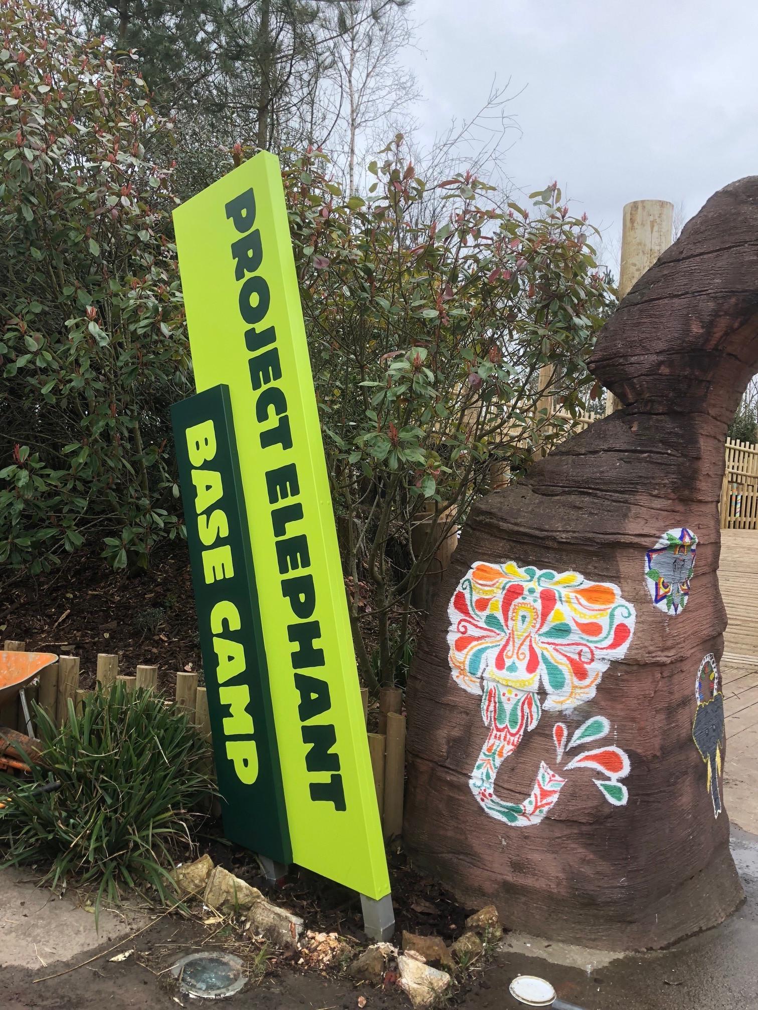 Blackpool Zoo Angled Totems