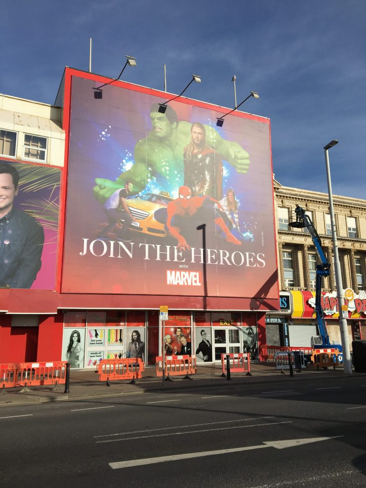 Madame Tussauds Marvel Blackpool, Marvel Exhibition