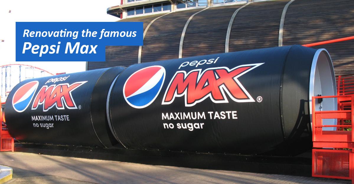 Pepsi-Max-Signage