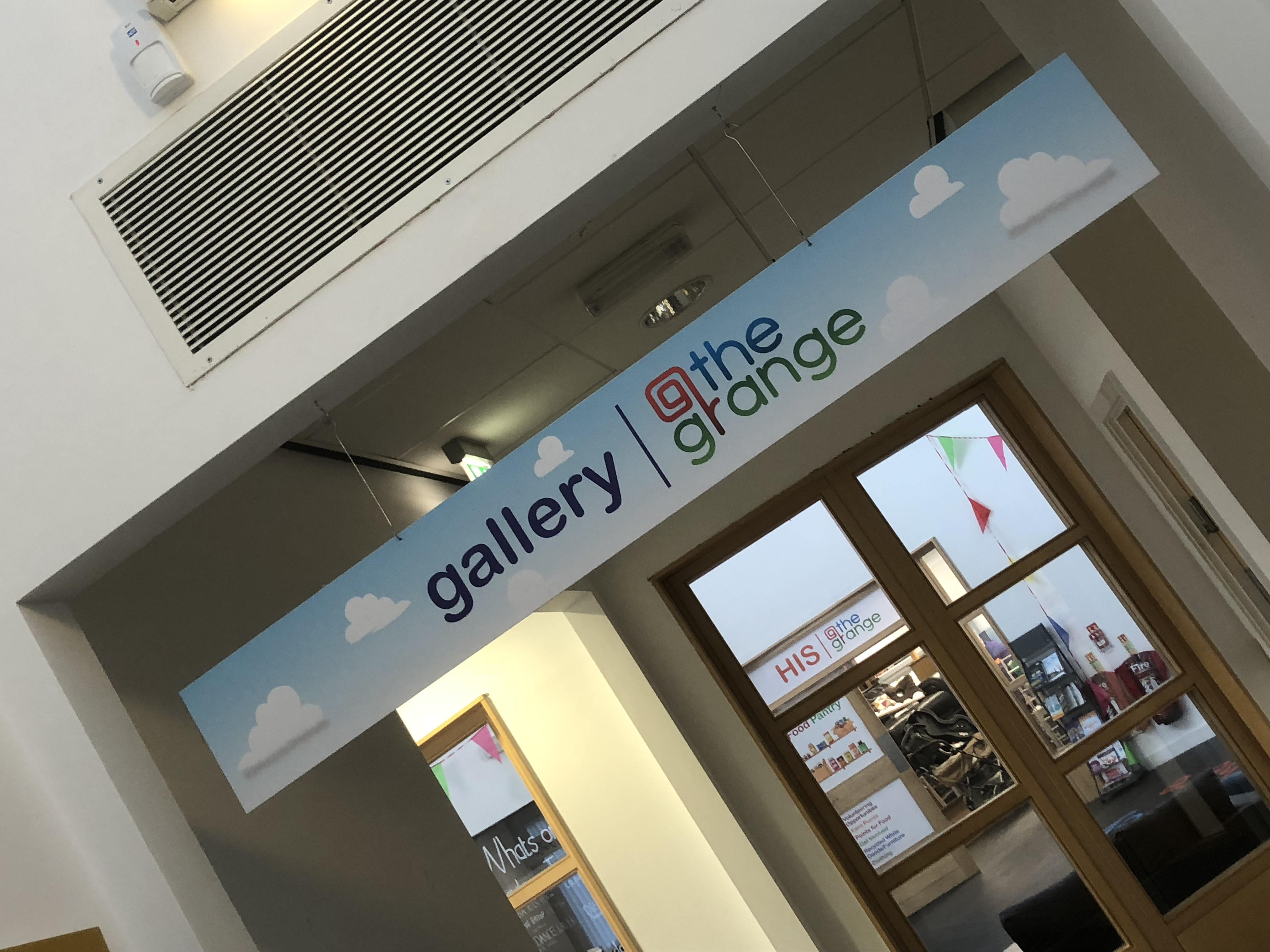 Gallery The Grange Signage Wall Graphics