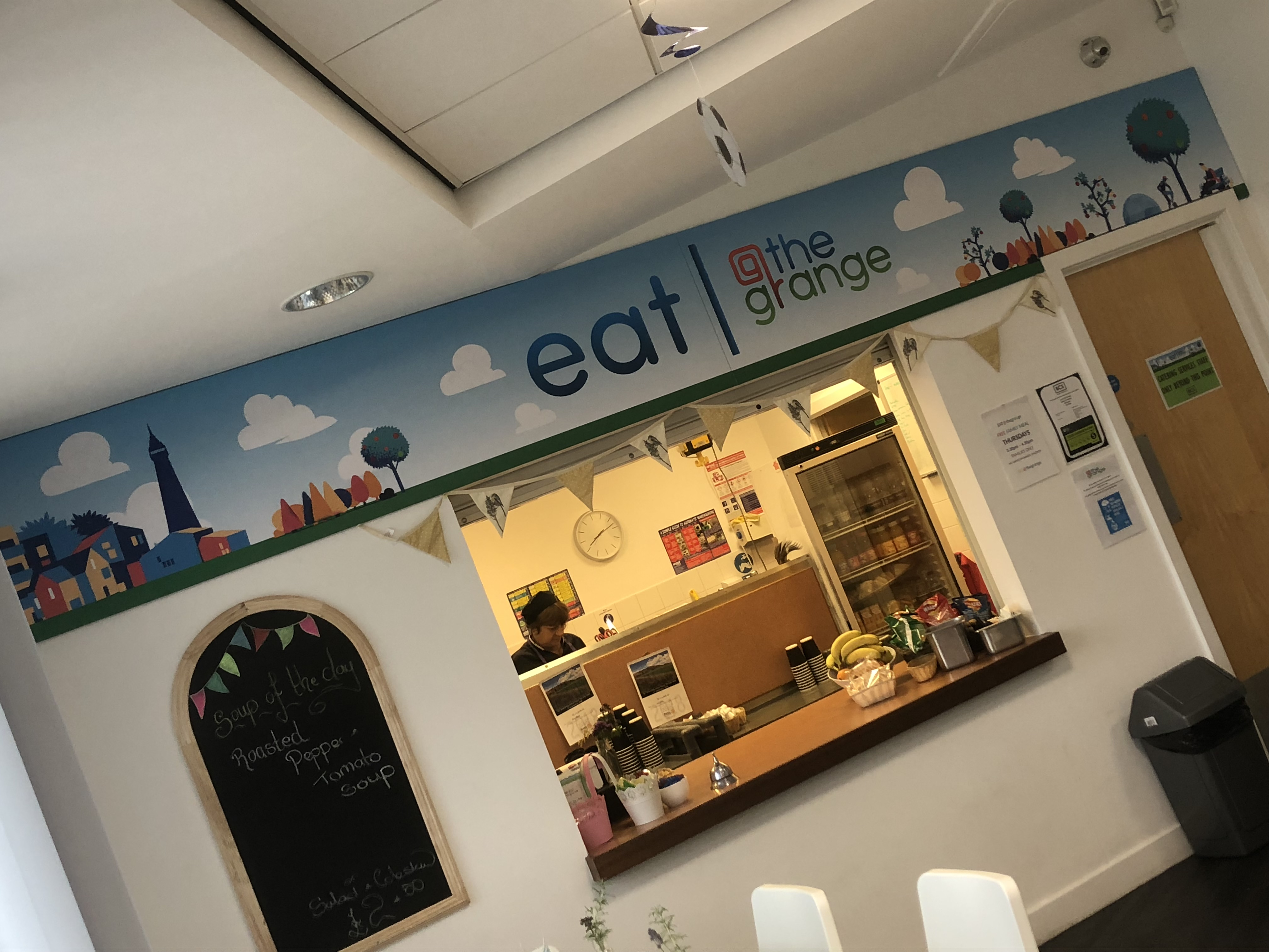 Eat The Grange Signage Wall Graphics