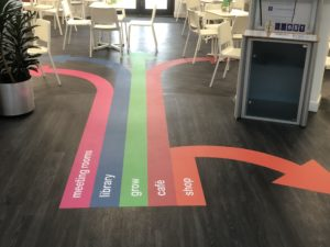 Floor Graphics Portfolio Links Signs and Graphics