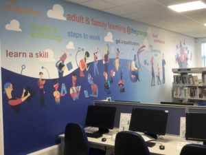 Wall Graphics Portfolio Links Signs and Graphics