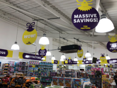 Toy Factory Banner Graphics