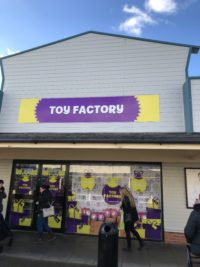 Toy Factory Signage Links Signs and Graphics Window Graphics