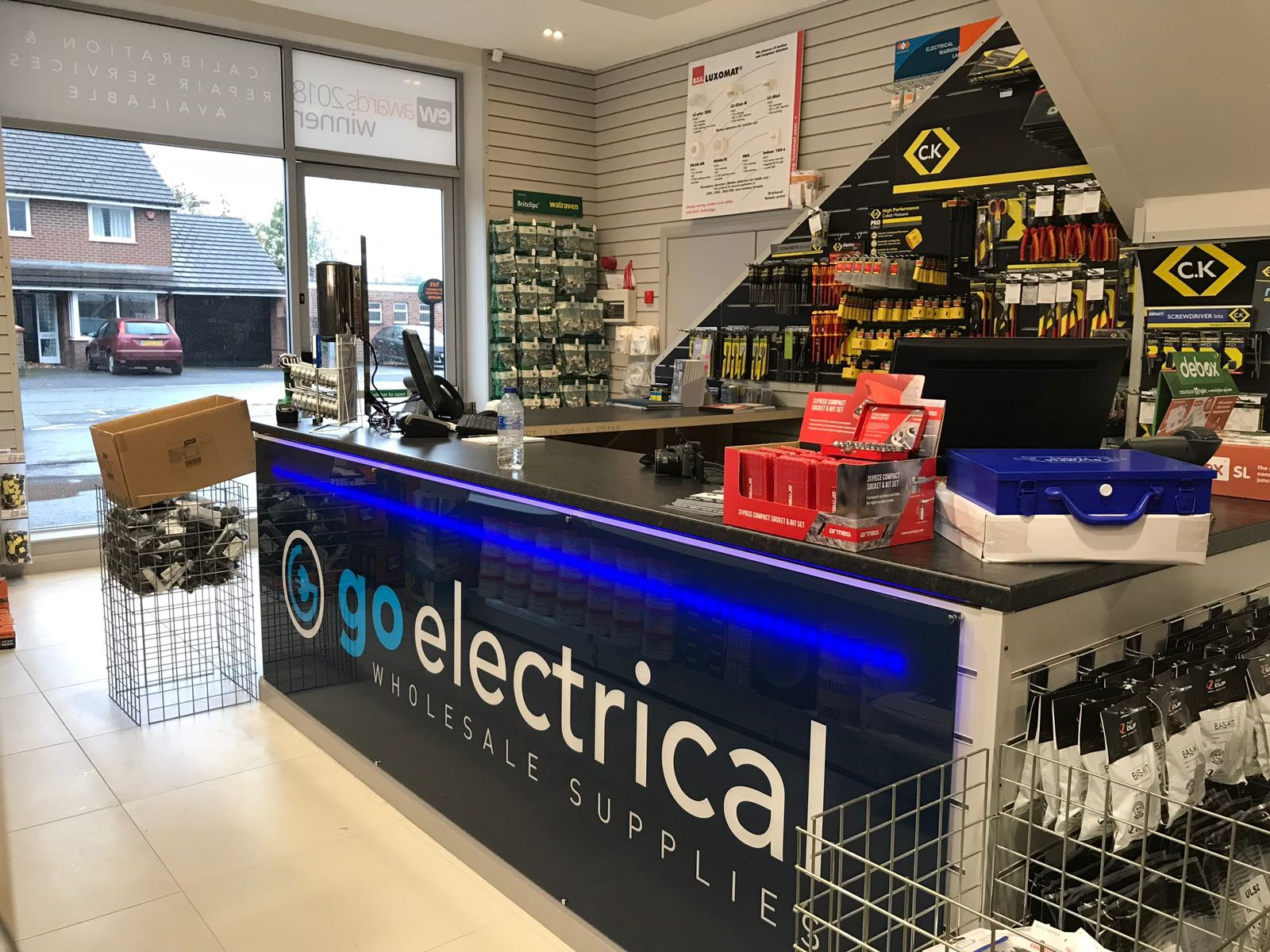Go Electrical Windermere Acrylic Illuminated Internal Sign