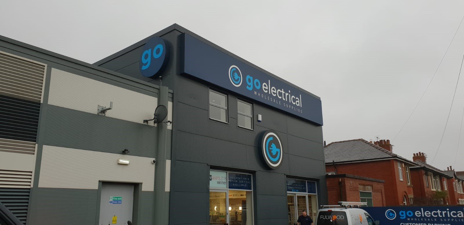 Go Electrical Windermere External Fascia Sign