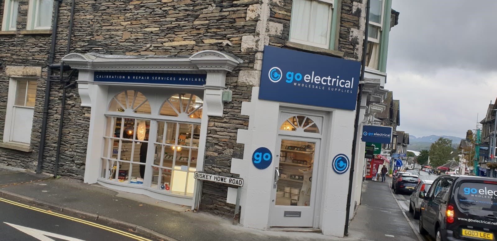 Go Electrical Windermere External Sign Windermere