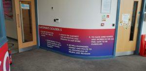 Gateways Golden 5 Wall Graphics Wallcoverings
