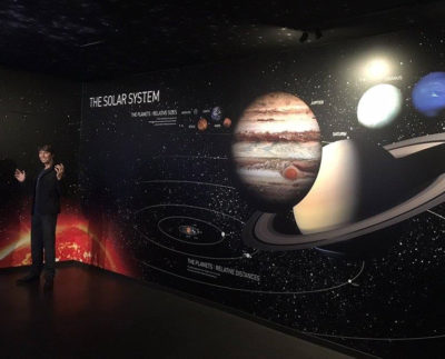 the solar system wallcoverings