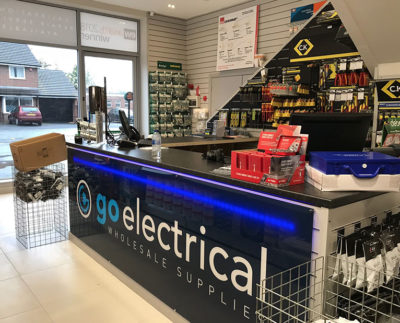 go electrical bespoke signage