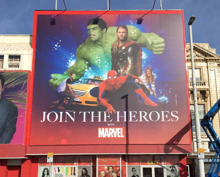 banners marvel superheros