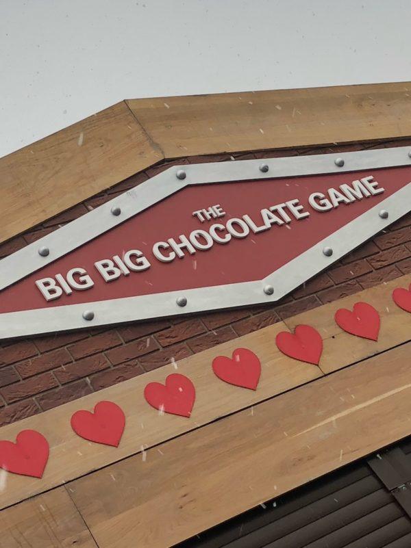 bespoke fascia sign big chocolate game