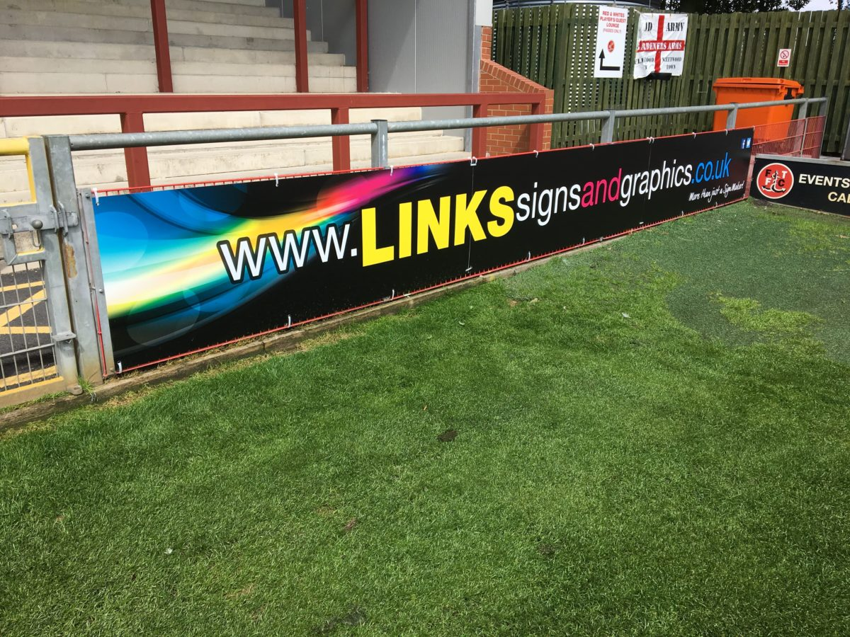 pitch board banner graphics links