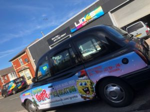 taxi wrap vehicle graphics