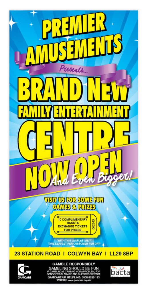Premier Amusements Family Entertainment Centre Poster