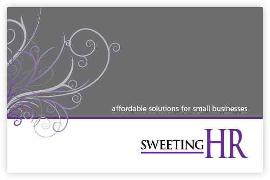 Sweeting HR Business Card