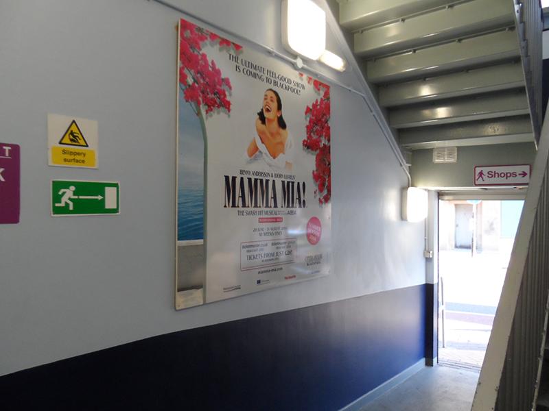 Mamma Mia Banner Graphics Signage