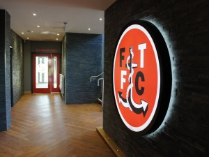 Internal Signage for Fleetwood Town