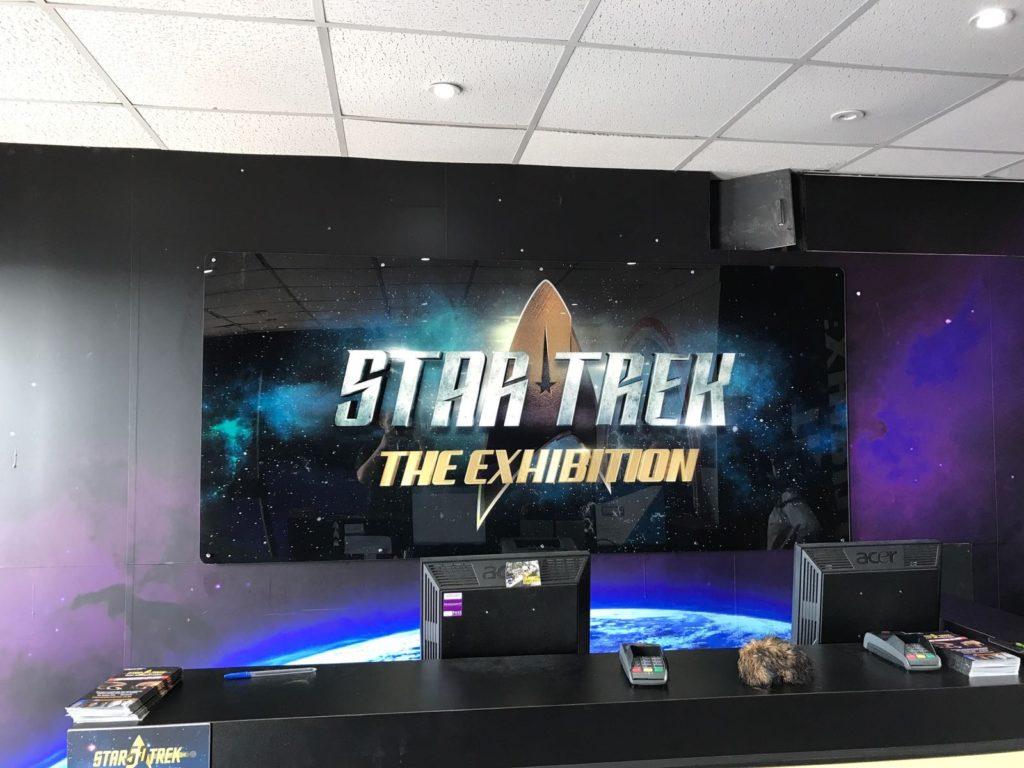 Portfolio Graphics Wrap Star Trek Discovery Signage