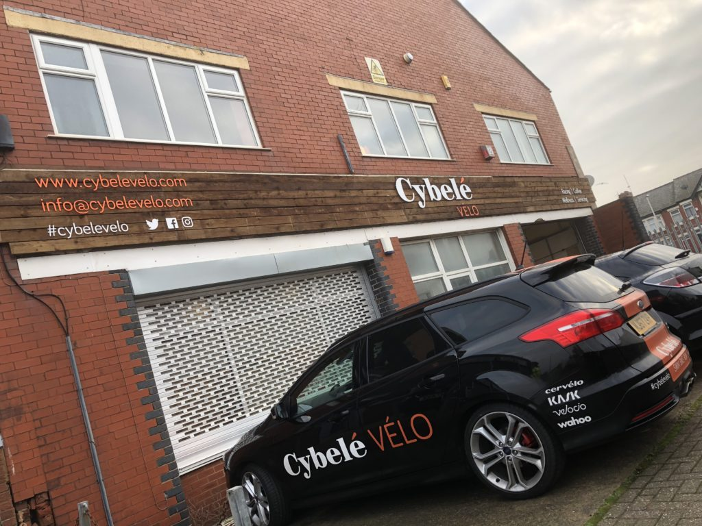 Cybele Velo Signage Vehicle Graphics