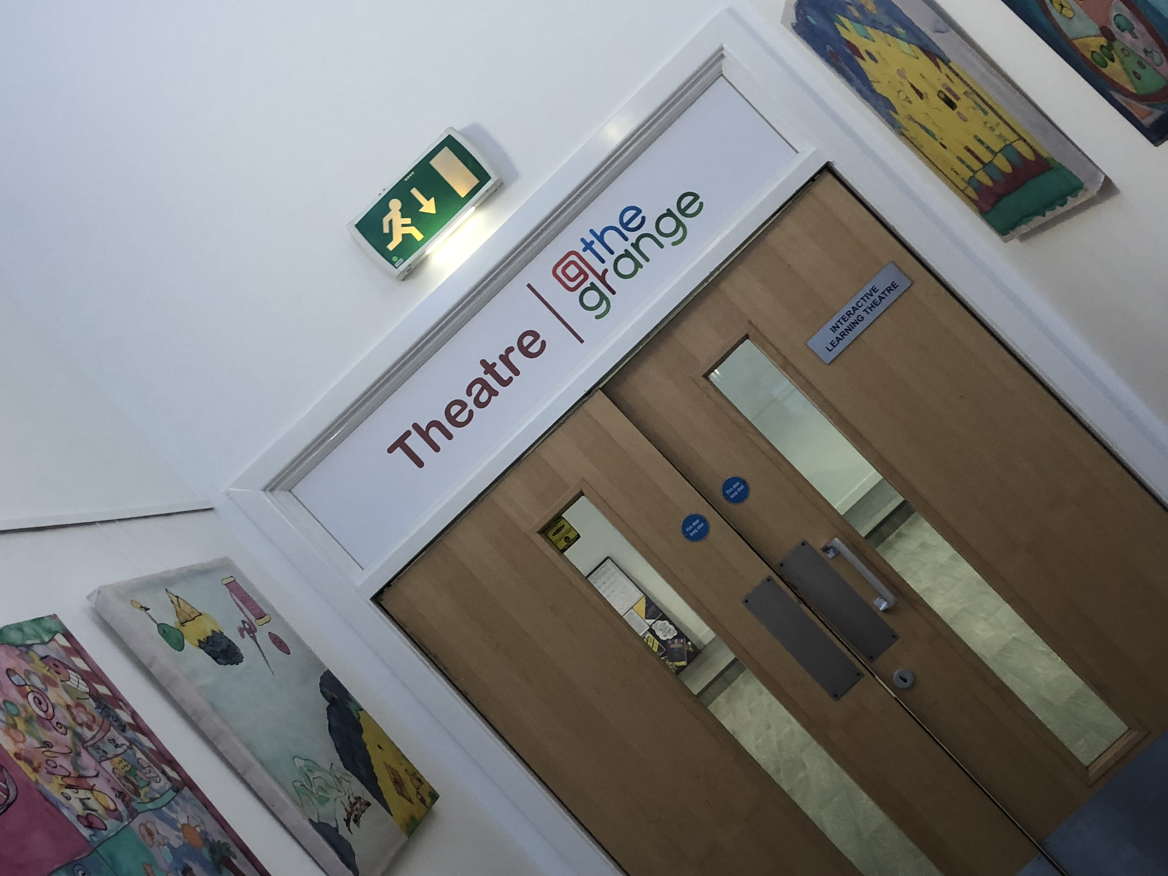 Theatre The Grange Signage Wall Graphics