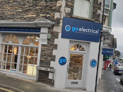 Go Electrical Signage Banner Graphics