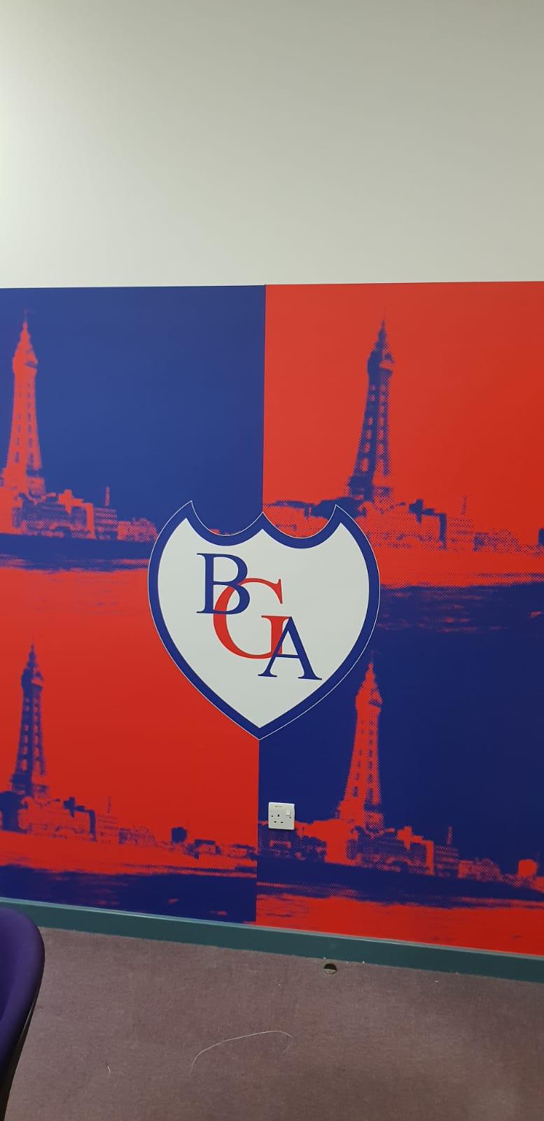 BGA Wall Graphics Wallcoverings Signage