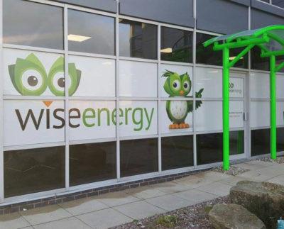 wise energy window graphics