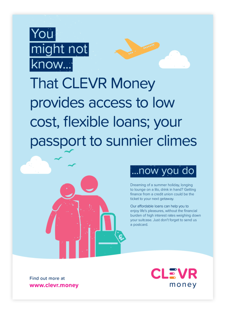 CLEVR Money Poster