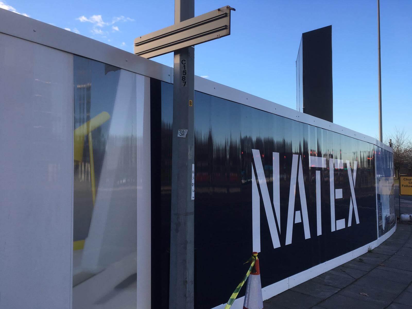 Hoarding graphics natex